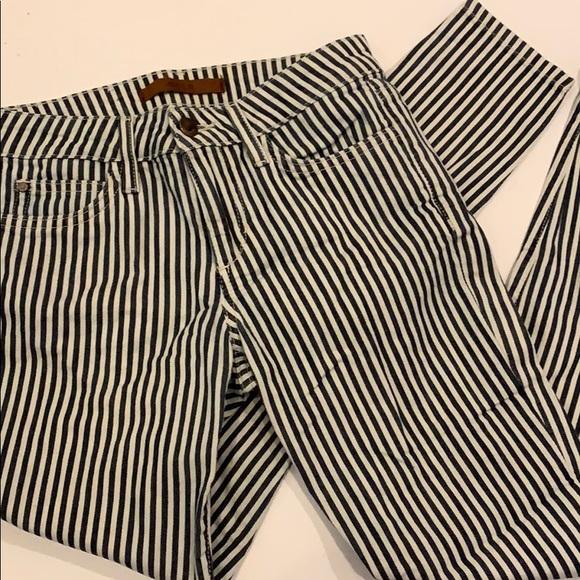 Joe's Jeans Denim - Hickory Railroad Stripe Joes Jeans